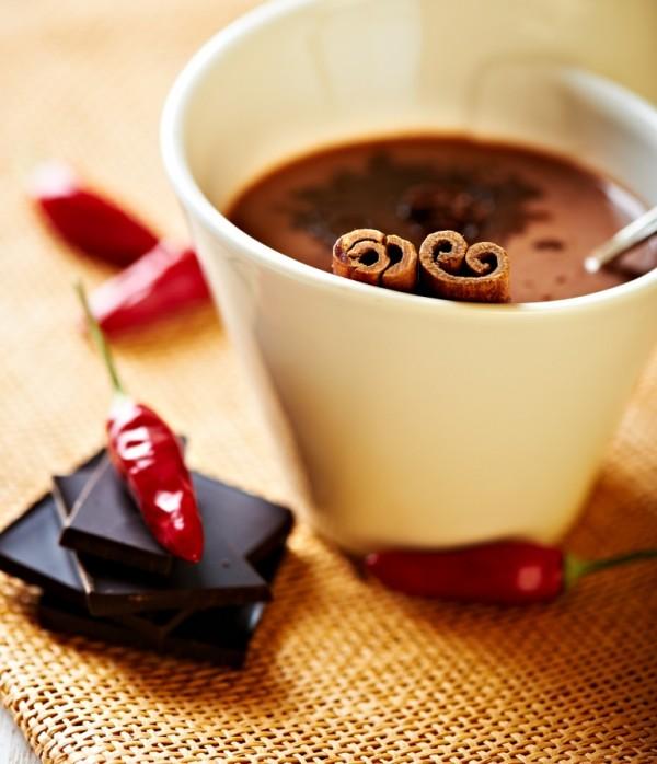Gorąca czekolada z chilli.